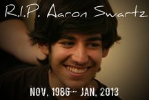 Aaron Swartz - Our Inspiration / Aaron Swartz stood for what he believed was fair and just. In his fight against SOPA he helped preserve our freedom to connect and with his several other contributions he preserved our freedom to collaborate. His life inspires us to have curiosity and stand by our sense of righteousness. A year back he left us all and the world was a lesser place. We are especially moved by his efforts to free knowledge and would like to carry forward his legacy.