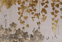 横長の日本画