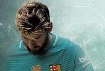 Leo Messi and Barça