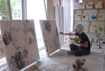 CREATIVE PLACES / STUDIOS /  Artists working, creative places
