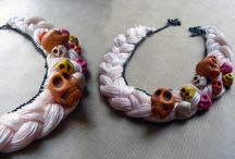 skull necklace / handcrafted accessories