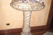 Fontane / Le fontane, acque santiere e vasi in marmo che abbiamo realizzato
