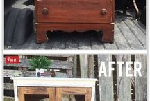 Up cycled furniture