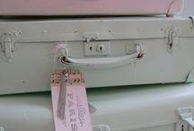 gamle koffertar