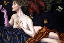 Lauri Blank e suas pinturas cheias de emoções
