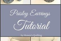 anting-earring paper