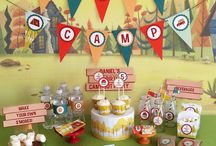 Camping Birthday Party Collection