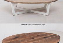 Mesas bajas redondas