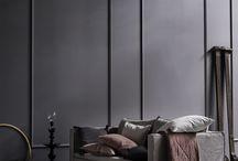 Glamour room - grey palette