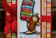cards---House mouse  / by Donna VanGeest