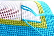 broderie panza plastic CANVAS