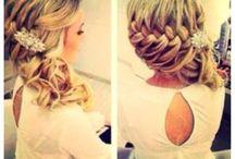 wedding hair / by Tonya Howell