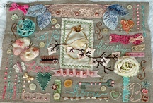 samplers for example / modern embroidery samplers