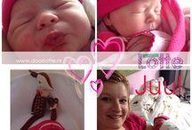 Hoera, onze dochter Juul is geboren! / Op vrijdag 14 februari 2014 is onze dochter Juul geboren. En wat heeft ze een mooie dag uitgekozen! Valentijnsdag, de dag van de liefde (met dank aan Geoffrey Chaucer), bracht ons dit jaar een schitterend meisje.  Duidelijk een teken van onze liefde voor elkaar!