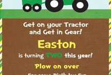 Tractor Birthday Party