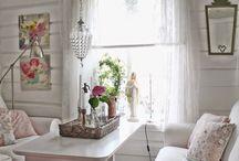 shaby living room