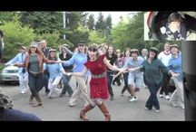 Favorite Flash Mobs / Entertaining & often inspiring. We should have more flash mobs in our lives. / by Anita Edge