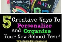 Back 2 school / How to customize your school supplies