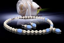 Jewel planet marine blue necklace