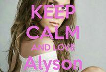 <3 Keep calm: Alyson Stoner <3