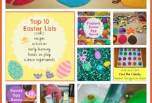 Easter Crafts & Games / Easter crafts, games, recipes and activities for kids