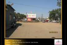 Hoardings at Bus Stands / To book hoardings contact us on - +91 9890801841 | www.aimadvertising.in