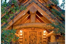 Log Cabins i love / by Cynthia Williams