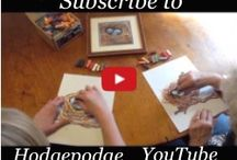 Free Video Art Lessons for All Ages / Free video art lessons and tutorials in chalk pastel. You ARE an Artist! Subscribe to our YouTube channel! https://www.youtube.com/user/triciahodges / by Tricia Hodges | Hodgepodge