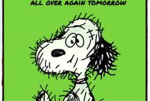 Snoopy says it best!