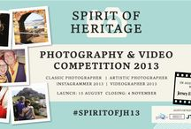 Spirit of Heritage / Jersey Heritage has partnered with the Jersey Evening Post to host the Spirit of Heritage Photographic and Video Competition 2013, which will run from 15 August 2013 - 4 November 2013.  We want you to capture your magical moments at one of the Island's most iconic heritage sites. There are four categories with a selection of prizes available to win. The winning entries will be used in the Jersey Heritage marketing campaign 2014.