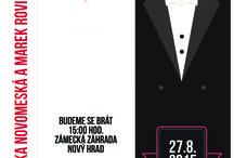 Nová kolekce / Nová kolekce originálních svatebních oznámení od LarisDesign