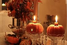 Fall decorating / by Betsy Feldmann