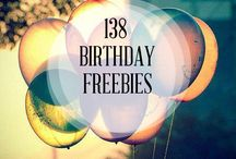 birthday freebies / by Anita Cappuccino