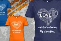 My valentine!T-shirt & Hoodies / It is my favorite singer Paul MeCartney  song My Valentine.Hope everyone like it. Get one for yourself