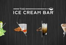About The Ice Cream Bar / The Ice Cream Bar ™ offers a variety of ice cream and sorbet made with liquor, craft beer, and other alcohol.    From White Russian to Malted Milk Chocolate Stout, we create flavors inspired by classic cocktails, modern mixology, and craft beer.  Each dessert is delicious and distinct, with one thing in common: ABV.  The Ice Cream Bar is the best thing to happen to alcohol since prohibition ended.
