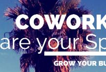 Coworking / The places and spaces where #coworking happens. #collaboration @spherepad