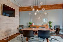 Real estate office interior