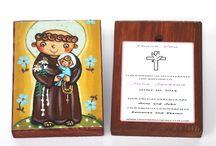 Girl baptism favors Boy christening favors Personalized wood block print Thank you favor Bautizo