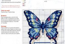 cross stich - butterfly / cross stich patterns