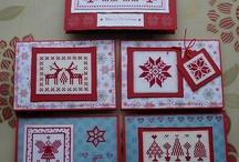 Cross stitch - cards