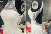 Bröllopsklänning