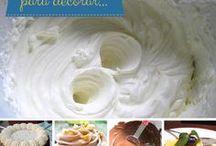 Cremas para relleno de tortas