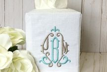 Sew Gracious Home / Monogrammed & Personalized Items for your home.