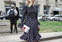 Polka dots through the ages