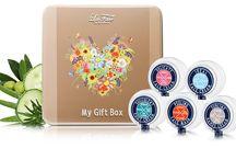 Une idée cadeau Bio / Un superbe coffret de cosmétique certifié BIO  Un mois de douceur et de bonheur :)