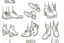 Shoes Drawing Referances