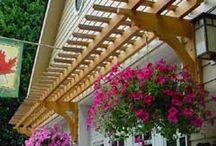 tettoie per porte e portoni