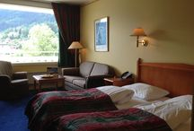 My hotel rooms / I sleep around with an iPhone