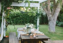 Outdoor Entertaining / Get inspiration from our range beautiful outdoor entertaining areas at our hand picked Mornington Peninsula beach holiday house rentals and other inspiring outdoor spaces