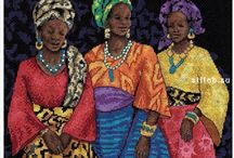 "Dimensions 35092 ""Three Yoruban Women"""